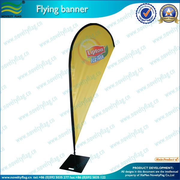 Brand publicity beach flags banners