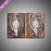 Home Decoration Accessories Abstract Art Hand Painted Canvas Oil Painting