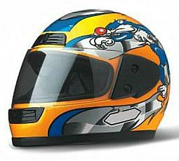 high quality motorcycle lightweight full face helmet