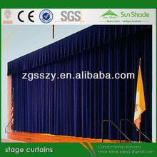 Superior quality discount used stage curtains for sales