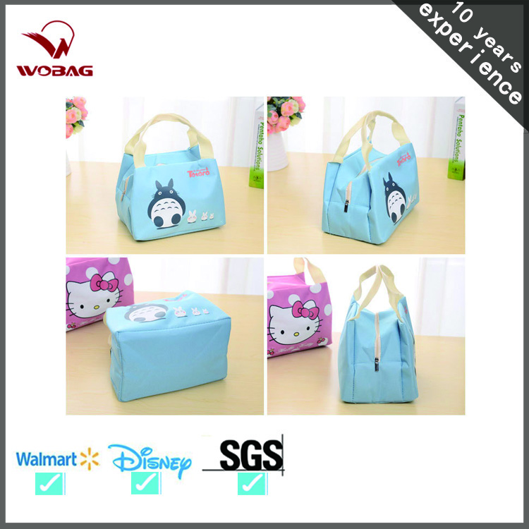 Fashion Cartoon Outdoor Picnic Insulated Waterproof Cooler Bag For Girls