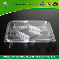 Guaranteed quality environmental plastic container for retail