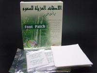 M1315 Herbal green foot pad kinoki chinese foot bath powder