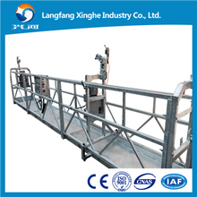 China manufactures hot galvanized ZLP1000 hanging scaffold