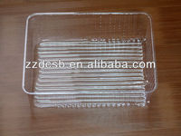 Clear Plastic Cookie Tray