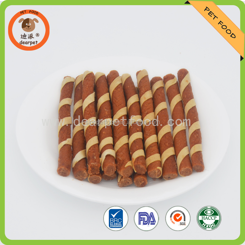 dog food chicken & cod meat stick dry pet food
