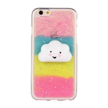 2017 New Arrival VoVan Squishy Animal Case 3D Cute Soft Silicone Poke Squishy Pet Phone Back Cover for iPhone 7