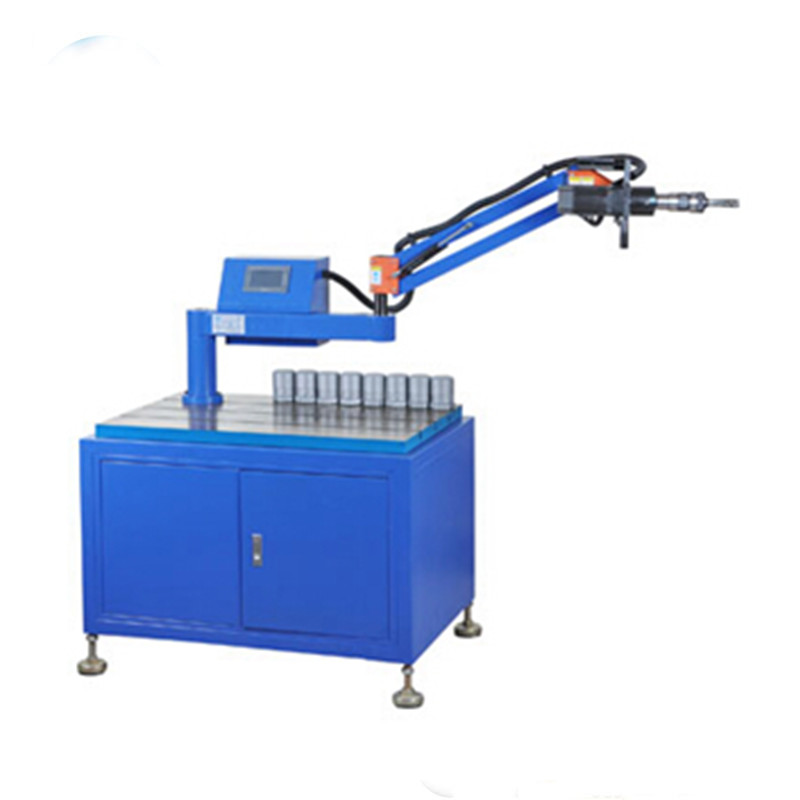 Factory price servo electric nut tapping threading machine