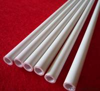 Custom White Rigid PVC Tube Customized Size/PVC Extrusion