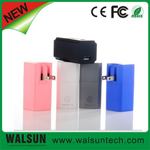 2014 Best AC Direct Charge 2600 mAh With Wall Charger Made in China