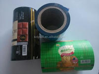 round sealing cover printed film
