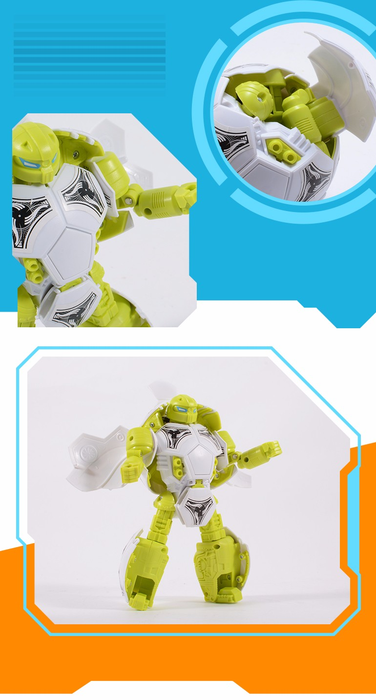 Hot selling China wholesale football transformable kids toys robots for sale