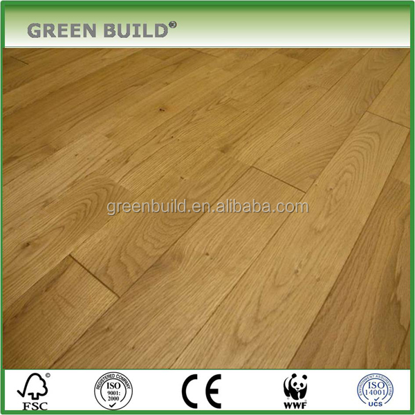 2017 New Product 15mm Engineered Oak Wood Flooring