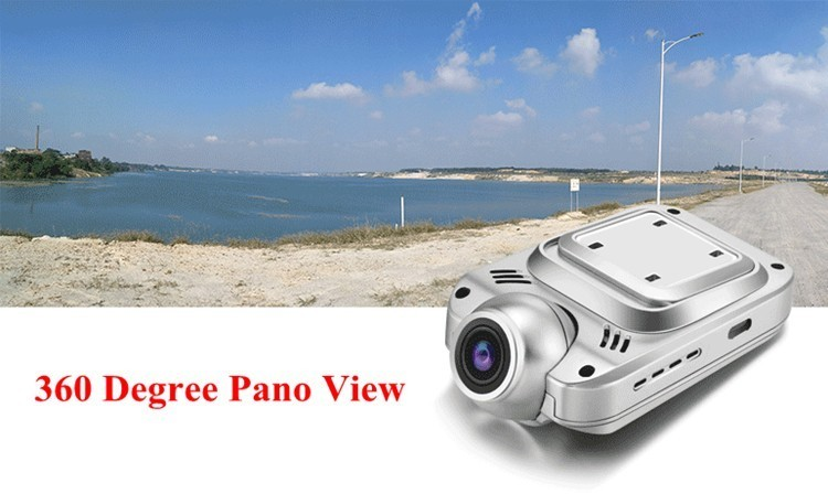 Slim wifi remote control car black box V11 private mini panoramic 360 degree car camera