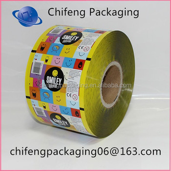 Hot sale plastic metalized packaging film