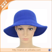 common fabric faux wool felt hat formal of woman