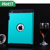New Hybrid SGP Tough Armor Hard Plastic PC + TPU Soft Silicone Rubber Case Cover Skin Protective for iPad Mini 2 Tablet