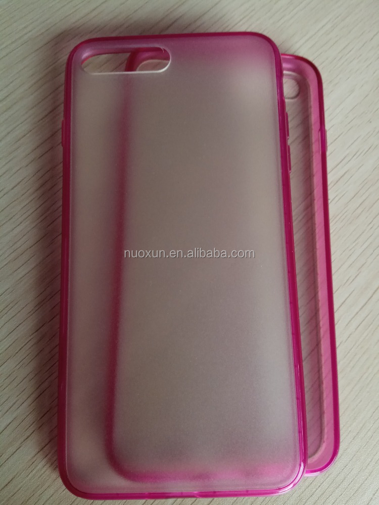 hot selling blank TPU+PC silicon case for I phone and Sam sung