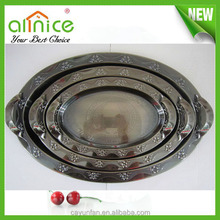 china factory price luxury and antique style metal serving tray/dish