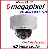 Original Hikvision 6MP Smart IP Outdoor Dome Camera Waterproof IP66 IP Camera DS-2CD4565F-IZH