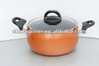aluminum non-stick belly shape casserole /dutch oven/saucepot