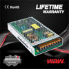 High efficiency ultra thin power supply LRS series ac to dc 24v 200w switching power supply with CE ROSE approved