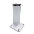 H150/200mm Aluminum Table leg,Furniture leg,Code:LG114