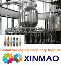 complete small scale fruit juice making machinery, fruit processing equipment, 250ml pet juice bottle filling line