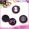 nylon cover EVA headphone earmuff zipper case,Customized scooter bag ear buds with ear hooks and mic