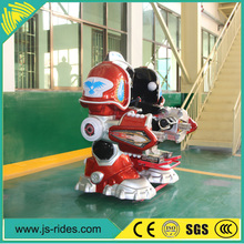 Amusement deluxe electric robot kids ride for sale