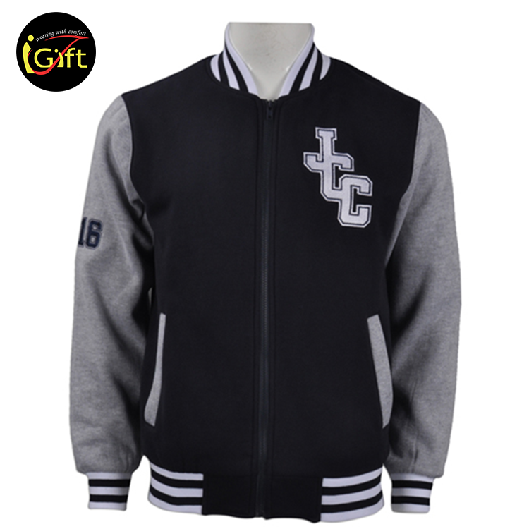 American Club College School Polyester Varsity Cheap Baseball Jackets