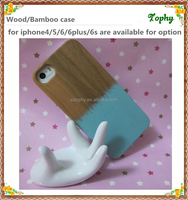for real Bamboo and wood Apple iPhone 6 Case phone cases for iphone 6 for iphone wood case laser engraving color printing