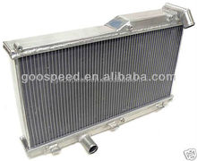 High performance racing aluminum radiator for automobile
