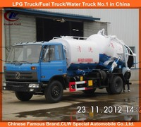 Waste water truck water tank and sewer tank 10cbm suction sewage tank truck