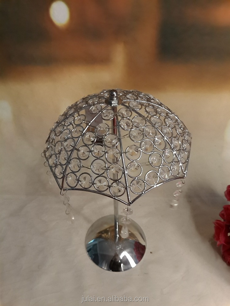metal crystal umbreblla for wedding centerpiece & home &party wedding decoration