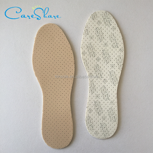 Antimirobial nano silver breathable latex insole