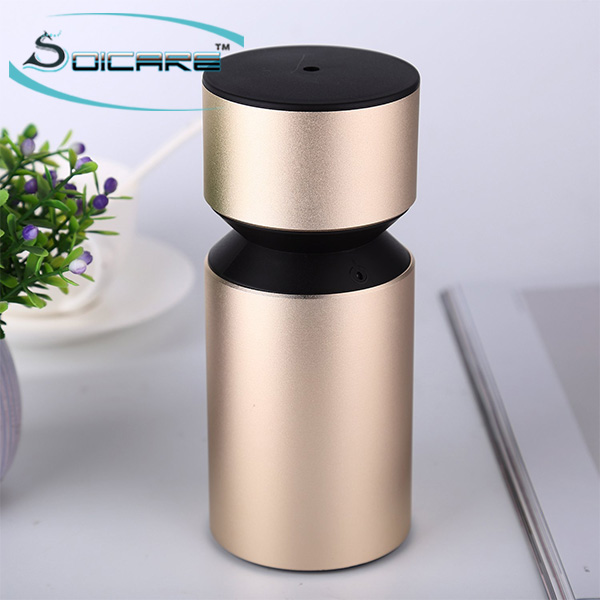 Portable waterless aroma nebulizer aromatherapy essential oil scent diffuser