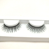 false eyelashes manufacturer 3D fiber eye lash with custom eyelash packaging