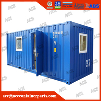 High quality customized new 20ft 40ft shipping container office for sale