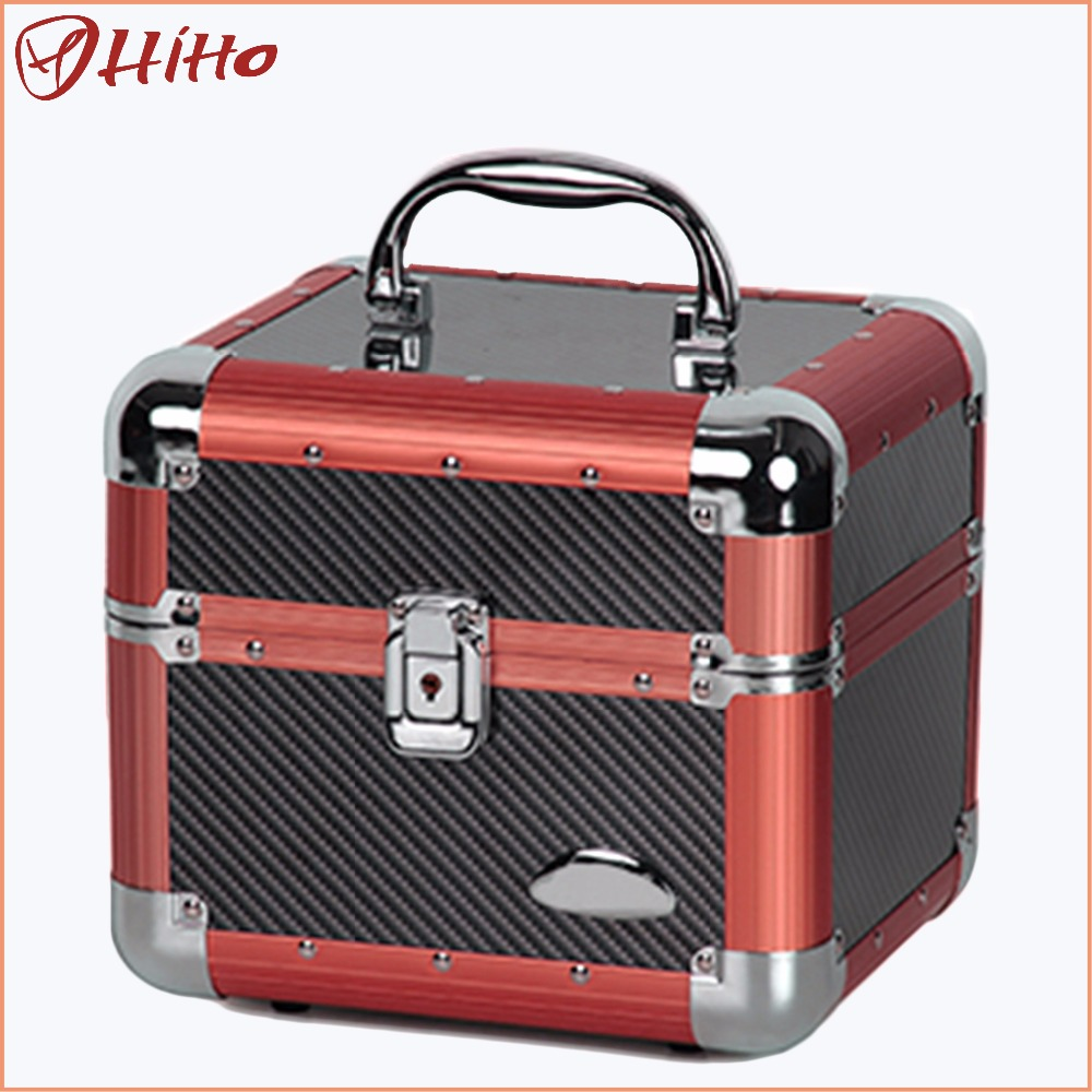 China Factory Price Aluminum Dance Cosmetic Case With Iso
