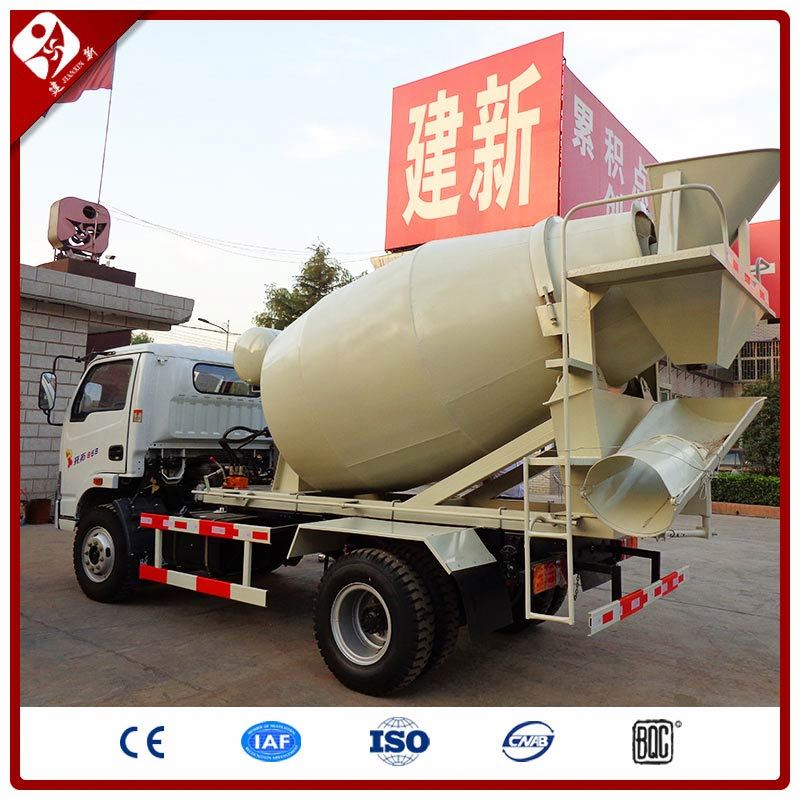 6 Cubic Meter 6M3 Cement Concrete Transferring Mixer Truck Dimension