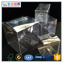 manufacturer handmade uv printing clear plastic shoe packing box