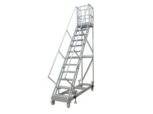 Cheap collapsible warehouse ladder with great price