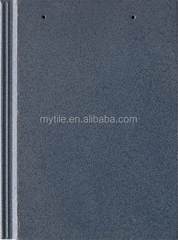 Light Weight gray ceramic body flat roof tile