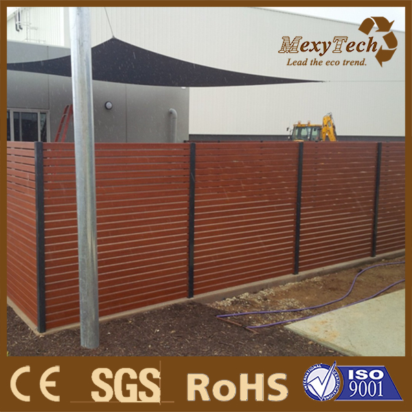 foshan horizontal slat /garden fencing and gate