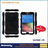 "Waterproof silicone case tablet 10"" for Samsung t330"