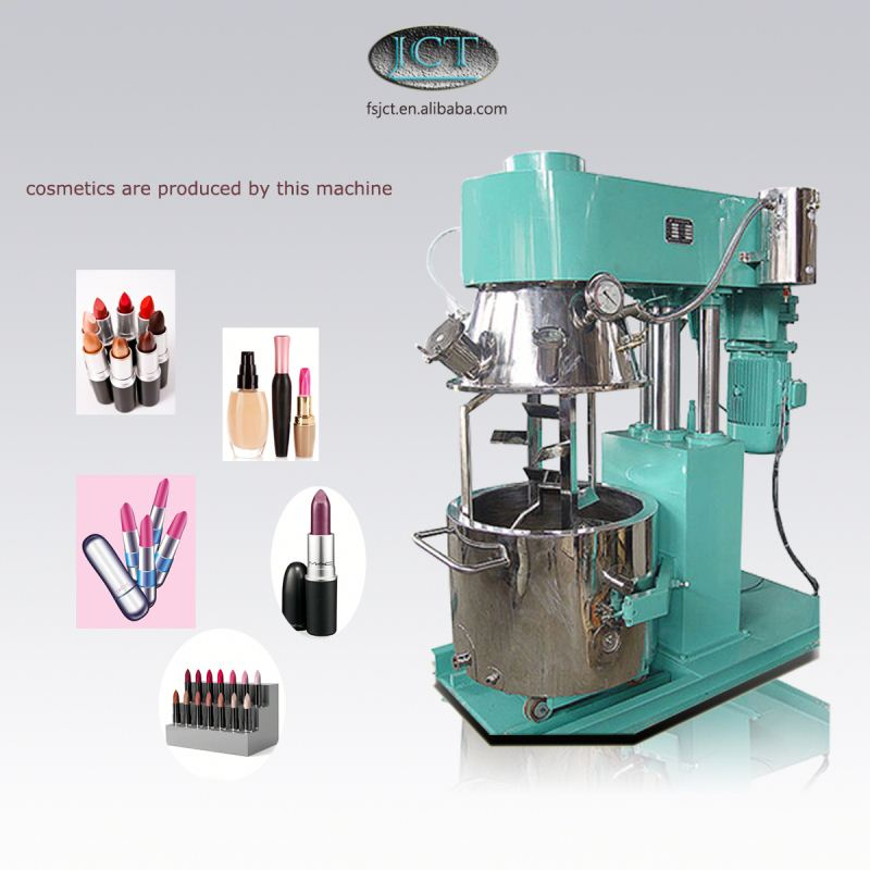 JCT by apple cosmetics making planetary mixer