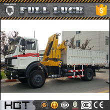 XCMG powerful 6.5ton truck cranes knuckle boom for sale
