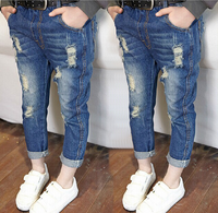 Z83625B cheap boys stocks pants jeans wholesale kid denim jean trousers in china