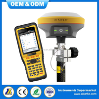 Hi target V90 rtk rover and base station land surveying equipment